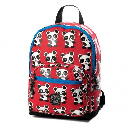 Pick Pack Fun Kinder Rugzak Panda Red