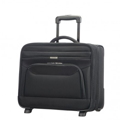 "Samsonite Spectrolite Briefcase 2 Vaks 16"" Black"