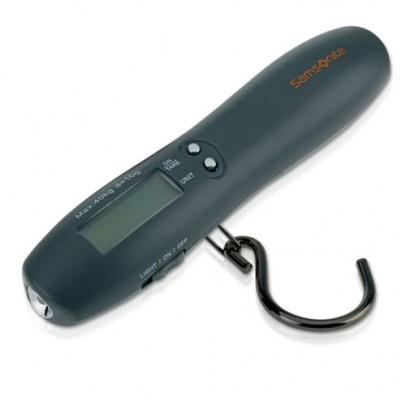 Samsonite Travel Accessory Digital Luggage Scale and Torch