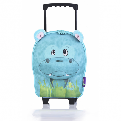 Pick Pack Fun Kinder Trolley Pink Frog