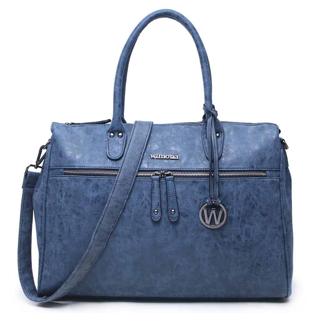Wimona Schoudertas 1104 Donkerblauw : Wimona fabiana schoudertas dark blue
