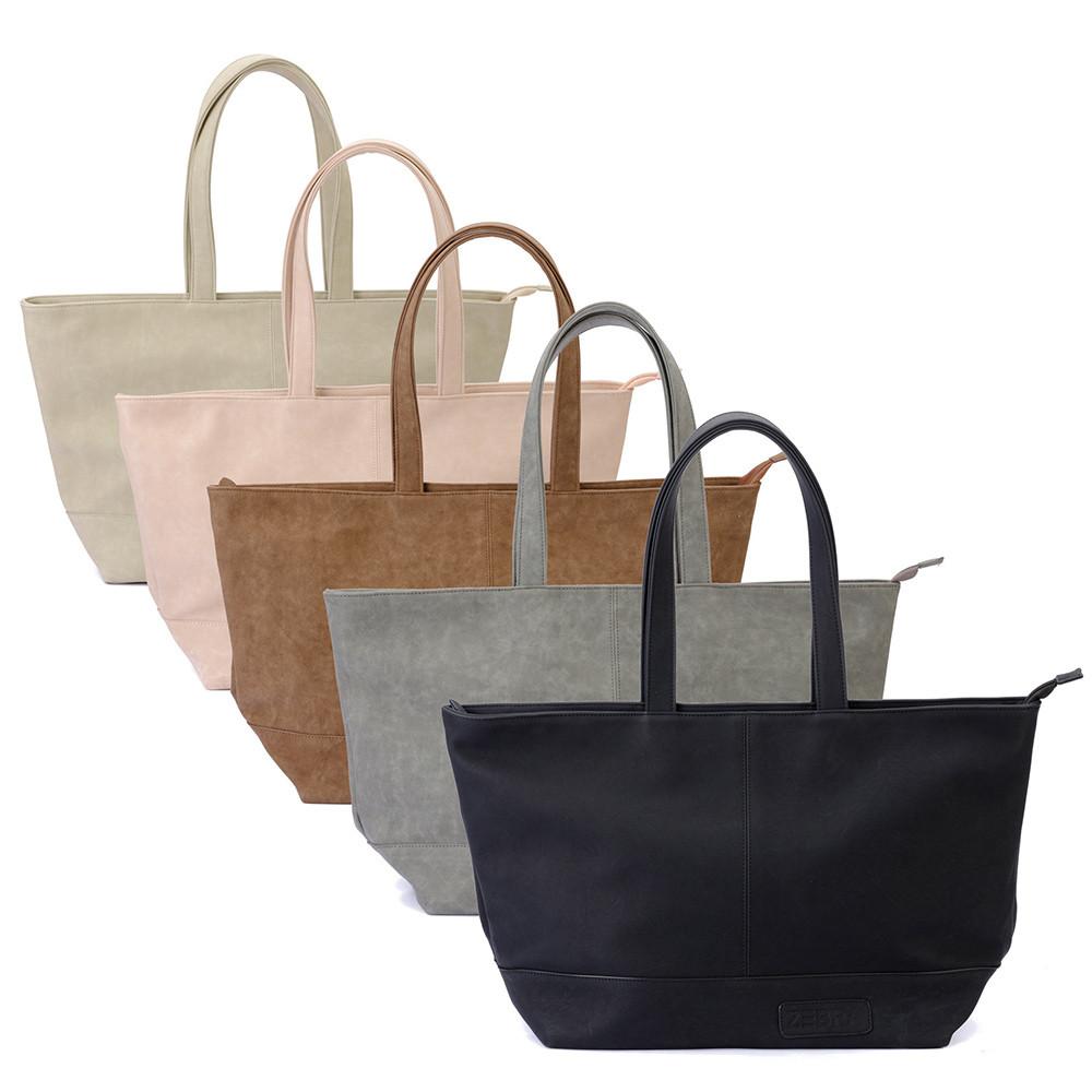 67ef867ad7a37 Zebra Trends Natural Bag XXL Rits Soft Pink 209905