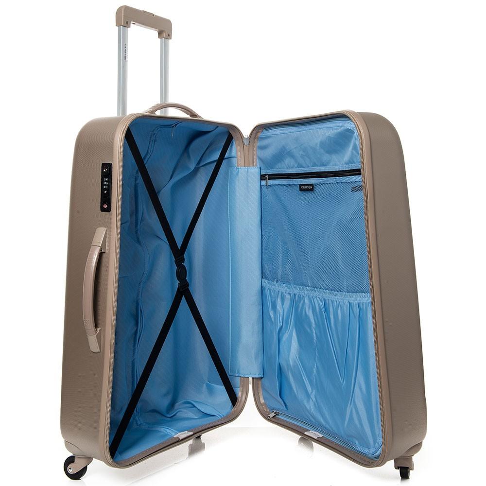 carryon skyhopper koffer 76 champagne. Black Bedroom Furniture Sets. Home Design Ideas