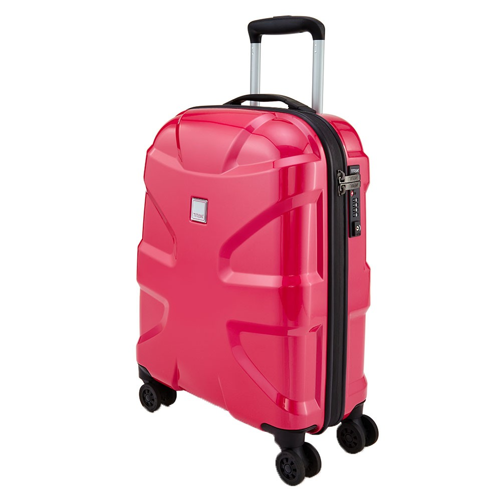 titan x2 flash 4 wheel trolley s fresh pink. Black Bedroom Furniture Sets. Home Design Ideas