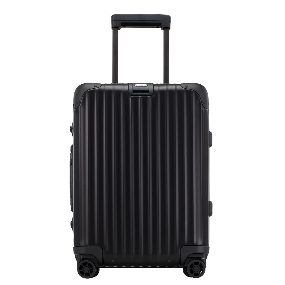 rimowa topas stealth cabin trolley multiwheel iata 55 black. Black Bedroom Furniture Sets. Home Design Ideas