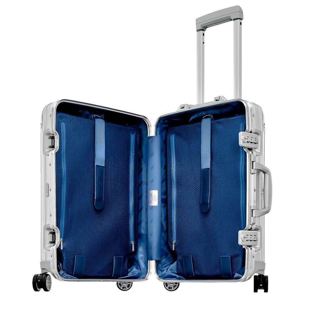 rimowa topas cabin trolley multiwheel 55 iata aluminium. Black Bedroom Furniture Sets. Home Design Ideas