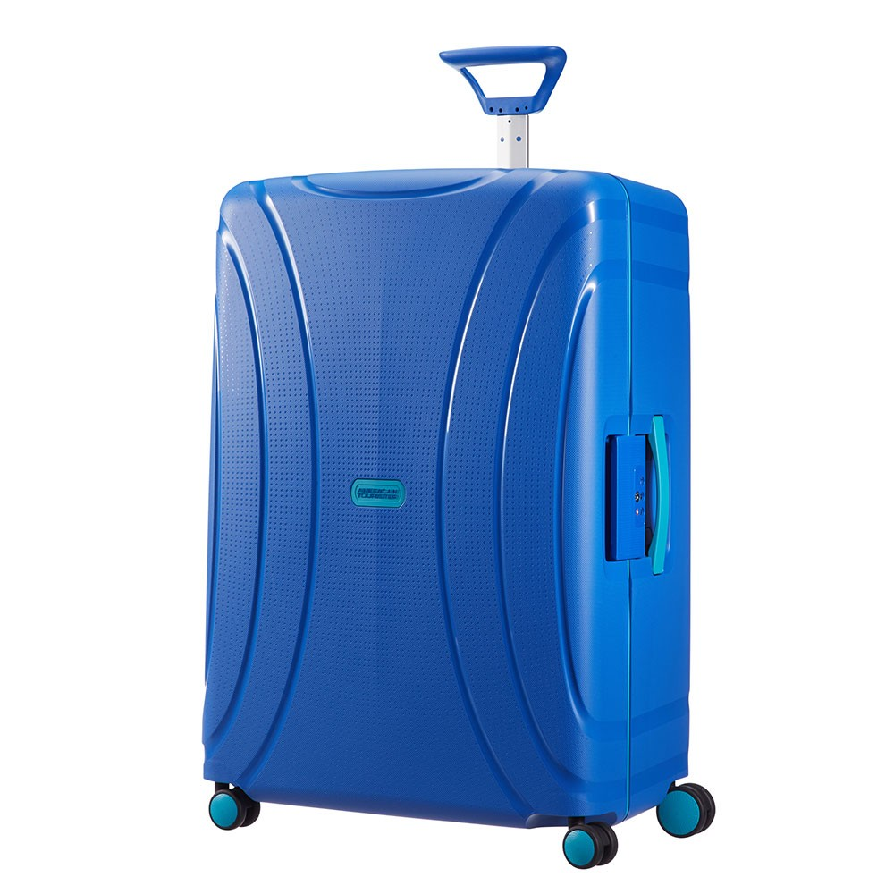 American Tourister Lock N Roll Spinner 75 Skydriver Blue