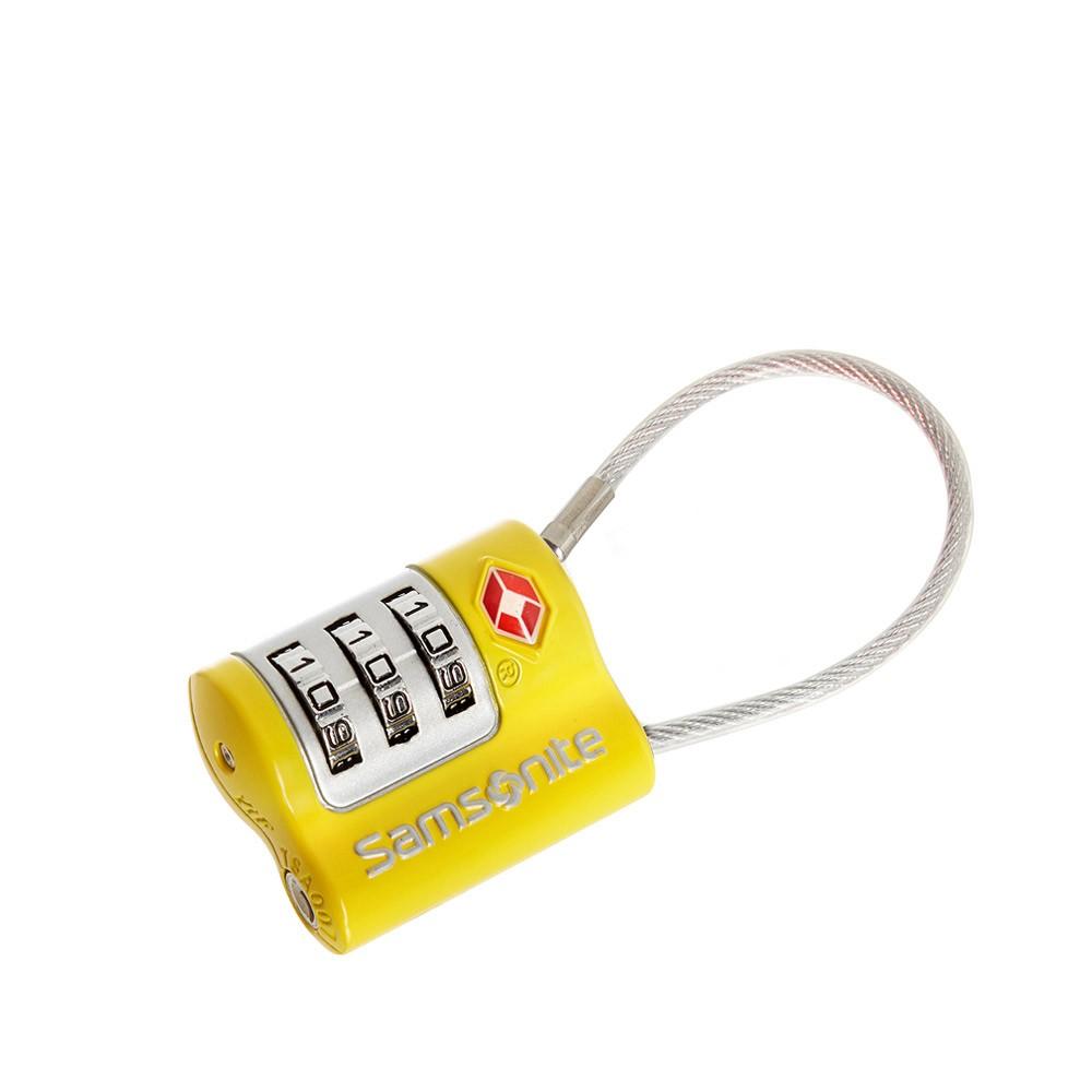 Samsonite Travel Accessoires Tsa Kabelslot Yellow