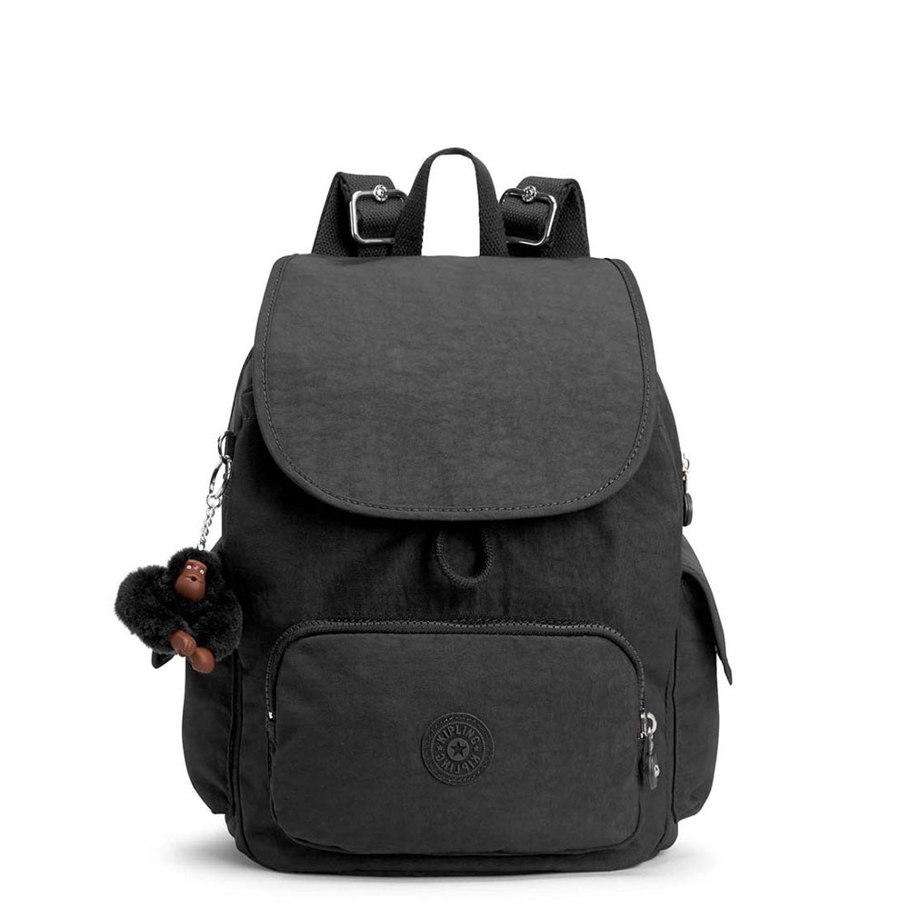 kipling city pack s backpack true black. Black Bedroom Furniture Sets. Home Design Ideas