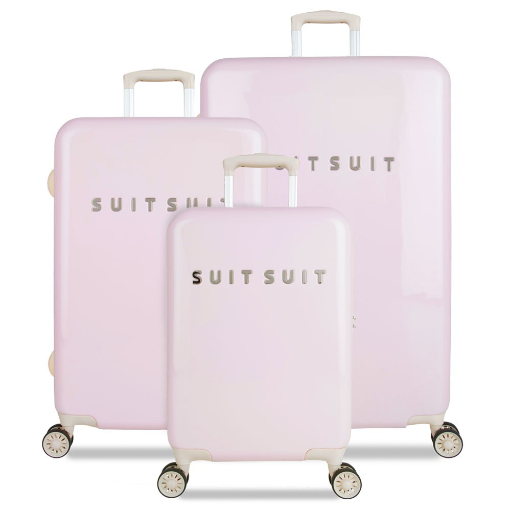 suitsuit fabulous fifties handbagage spinner 55 pink dust. Black Bedroom Furniture Sets. Home Design Ideas