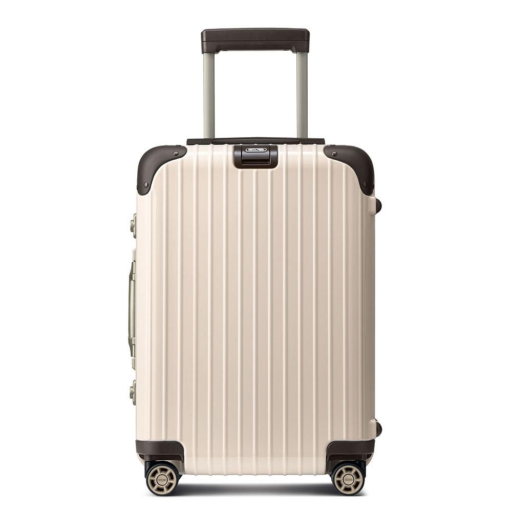 Rimowa limbo cabin trolley multiwheel 55 iata creme white for Rimowa limbo cabin multiwheel iata