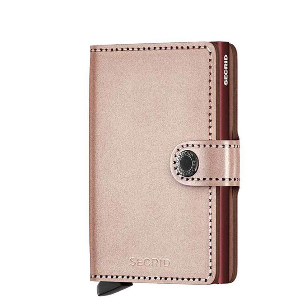f376e696883 Secrid Mini Wallet Portemonnee Metallic Rose/ Rose