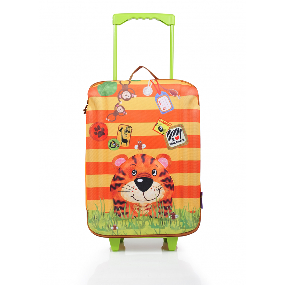 okiedog wildpack koffer trolley large tiger. Black Bedroom Furniture Sets. Home Design Ideas