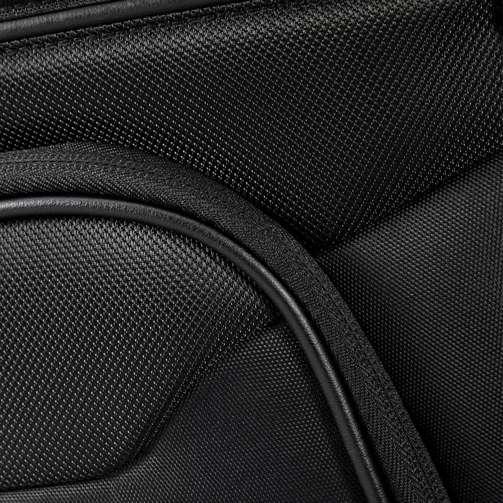 Samsonite Bailhandle Schoudertas 15 6 Zwart : Samsonite desklite bailhandle expandable black