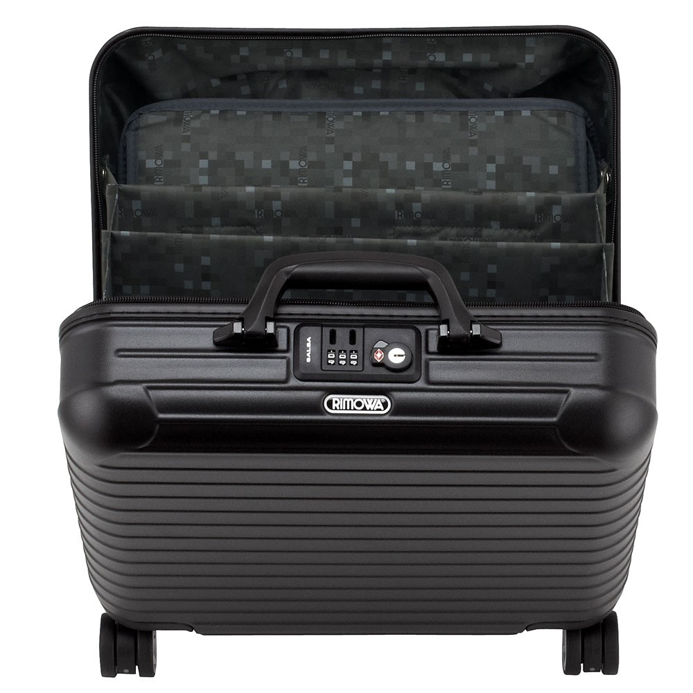 rimowa salsa business trolley multiwheel black matte. Black Bedroom Furniture Sets. Home Design Ideas