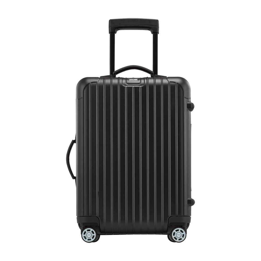 rimowa salsa cabin trolley multiwheel iata 55 black matte. Black Bedroom Furniture Sets. Home Design Ideas