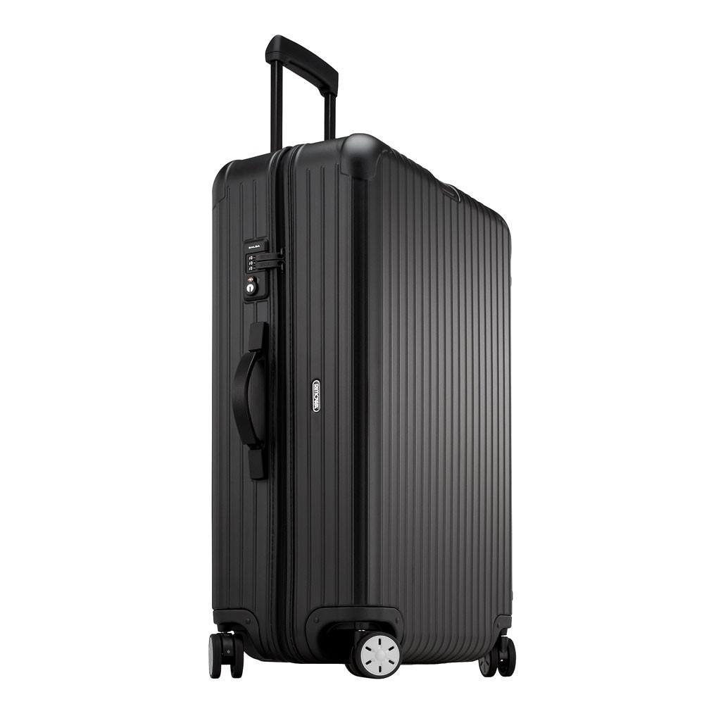 rimowa salsa multiwheel trolley 78 black matte. Black Bedroom Furniture Sets. Home Design Ideas