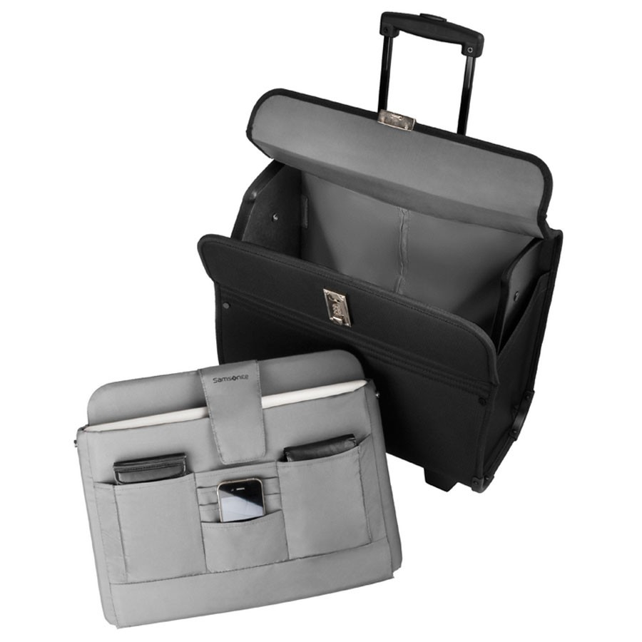 samsonite transit syncretic 2 pilot case black. Black Bedroom Furniture Sets. Home Design Ideas