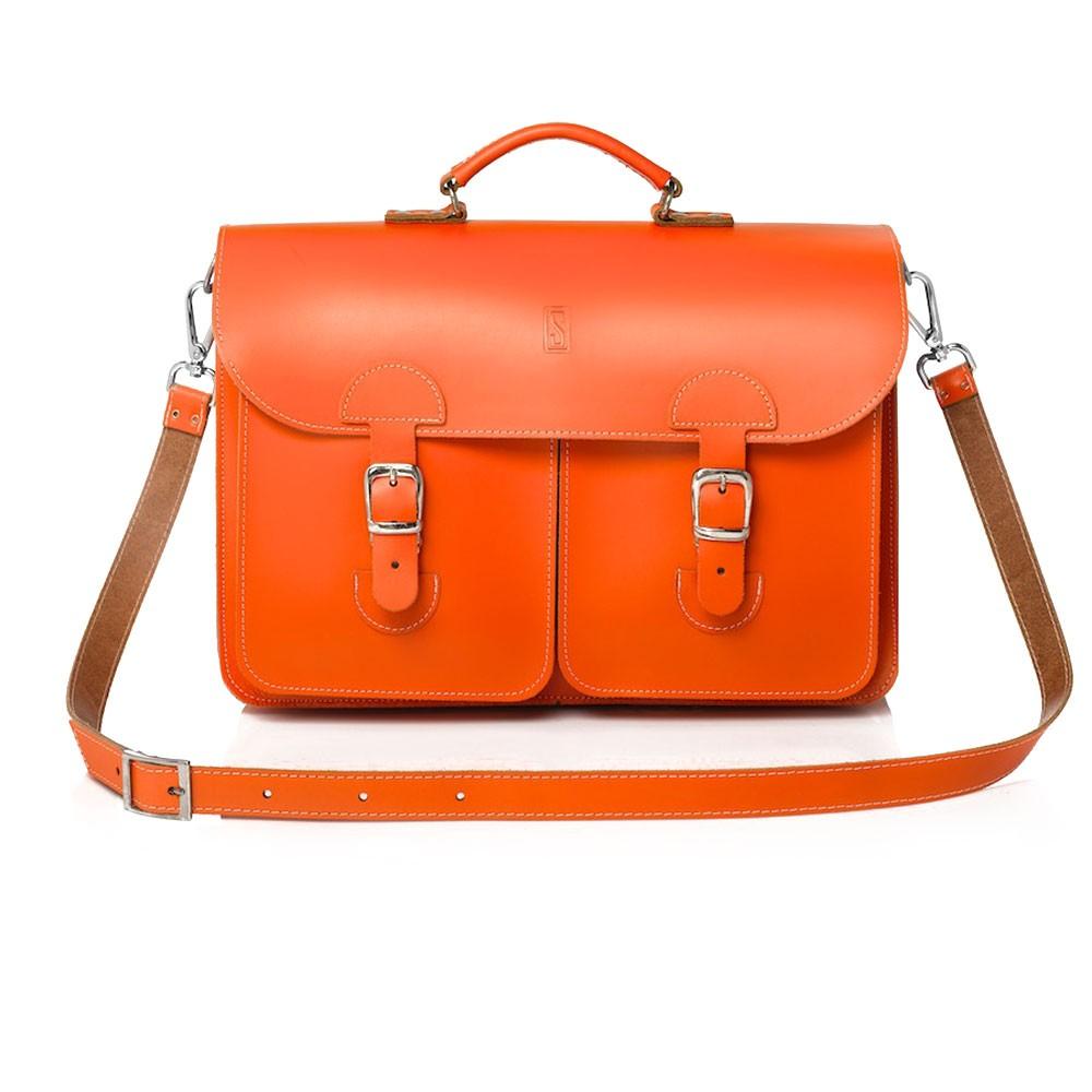 a24dd198c3d OldSchool Bags Schooltas Extra Large Oranje