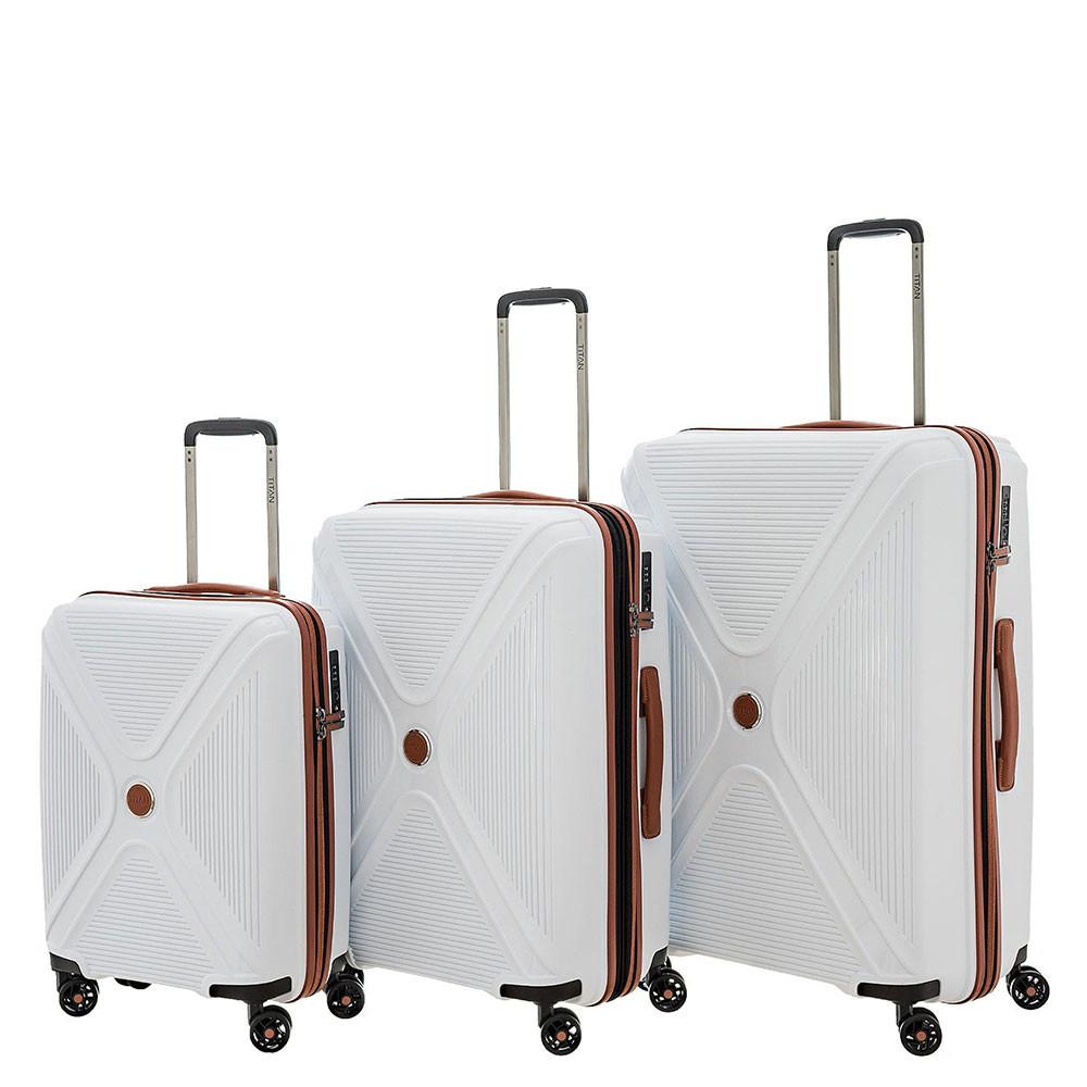 titan paradoxx 4 wheel trolley l white. Black Bedroom Furniture Sets. Home Design Ideas