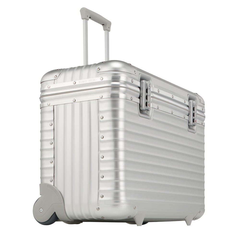 rimowa pilot business trolley 51 aluminium. Black Bedroom Furniture Sets. Home Design Ideas