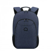 "Delsey Esplanade Laptop Backpack 2-CPT 13.3"" Navy"