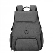 "Delsey Esplanade Laptop Backpack Woman 2-CPT 15.6"" Anthracite"