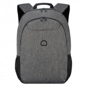 "Delsey Esplanade Laptop Backpack 2-CPT 17.3"" Anthracite"