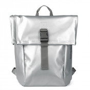 Bree Punch 92 Backpack S Shiny Silver