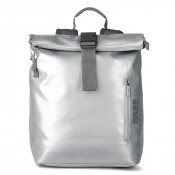 Bree Punch 712 Backpack S Shiny Silver