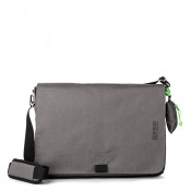 Bree Punch 711 Style Messenger L Slate
