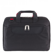 "Delsey Parvis Plus Laptop Bag 2-CPT 17"" Black"