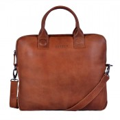 DSTRCT Fletcher Street Business Laptoptas 13.3'' Cognac 016120