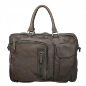 DSTRCT Pearl Street Business Laptoptas 15.6' Grey 26220