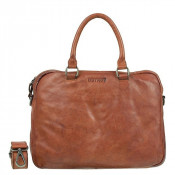 "DSTRCT Pearl Street Business Laptoptas 15.6"" Cognac 26320"
