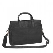 "Chesterfield Laptoptas Trevor 16"" Black"