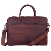 DSTRCT Wall Street Business Laptoptas 17'' Brown