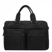 DSTRCT Wall Street Business Working Bag Laptoptas 15.6'' Black 76620