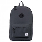 Herschel Heritage Rugzak Dark Shadow/Black Pebbled Leather