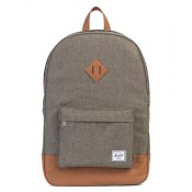 Herschel Heritage Rugzak Canteen Crosshatch/Tan Synthetic Leather