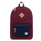 Herschel Heritage Rugzak Offset Windsor Wine/ Peacoat