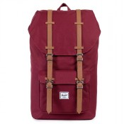 Herschel Little America Rugzak Windsor Wine/Tan PU