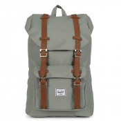 Herschel Little America Mid Volume Rugzak Shadow/Tan Synthetic Leather