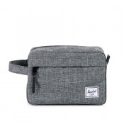 Herschel Chapter Toilettas Raven Crosshatch