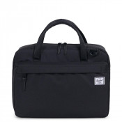 Herschel Gibson Laptop Schoudertas Black