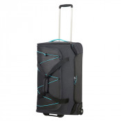 American Tourister Road Quest Duffle Wheels 67 Graphite/ Turquoise