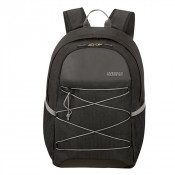 """American Tourister Road Quest Laptop Backpack M 15.6"""" Black/ Grey"""