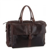 Spikes & Sparrow Bronco Weekender L Dark Brown 107V140