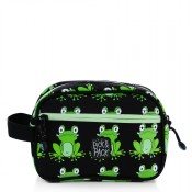 Pick & Pack Fun Toilettas Frog Pattern Black