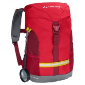 Vaude Pecki 10 Kinder Rugtas Energetic Red